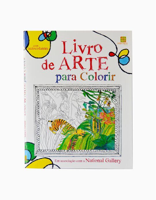 Livro de Arte para Colorir Edicare