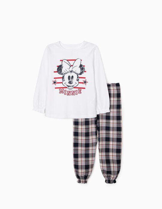 Pyjamas for Girls 'Minnie', White/Red/Blue