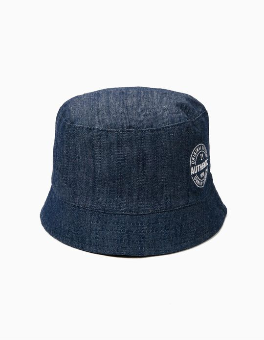 Denim Hat for Boys 'ZY 1996', Blue