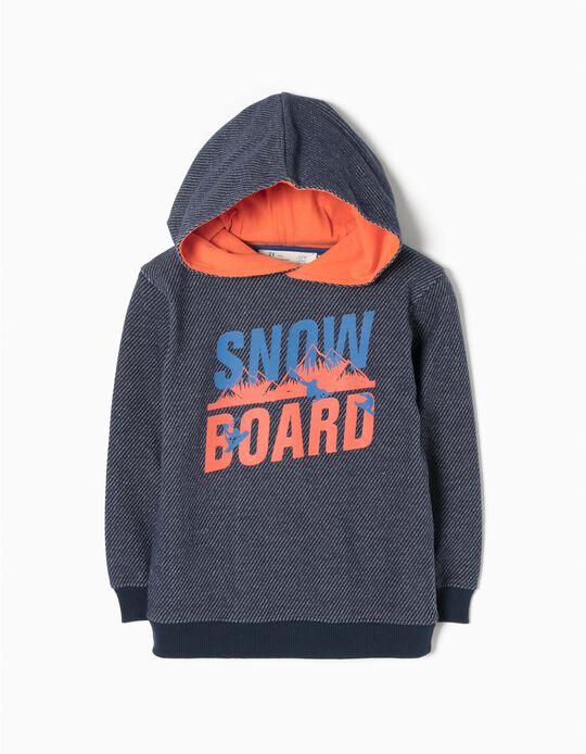 Sudadera con Capucha Snowboard
