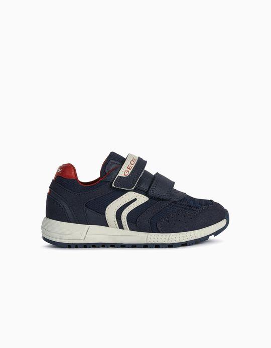 Zapatillas Geox para Niño, Azul Oscuro