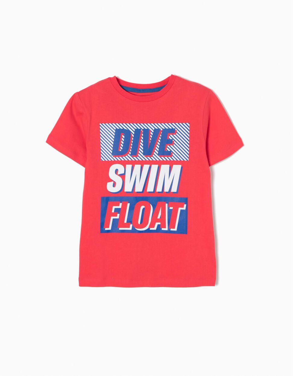 T-shirt Dive Swim Float