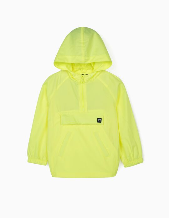 Windcheater for Boys, Fluoride Yellow