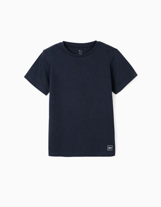 T-shirt for Boys, Dark Blue