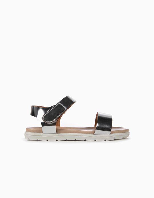 Sandálias para Menina, Prateado
