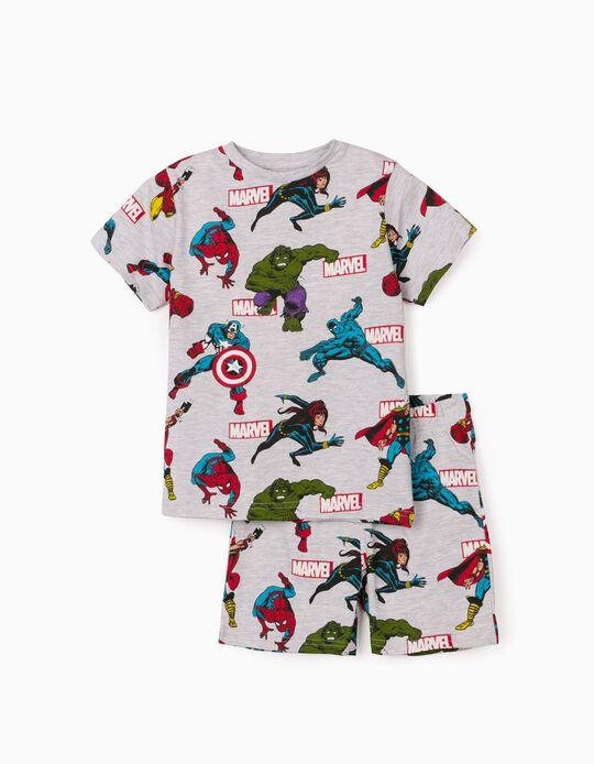 Pijama para Menino 'Avengers', Cinza