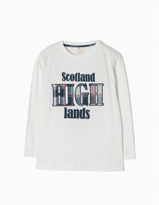 Camiseta de Manga Larga Scotland