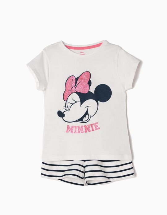 Conjunto de Camiseta y Short Minnie