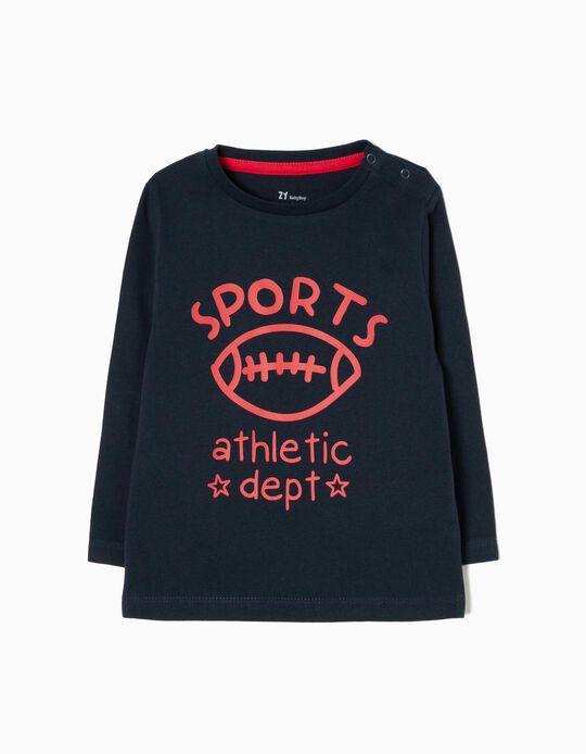 T-shirt Manga Comprida Sports
