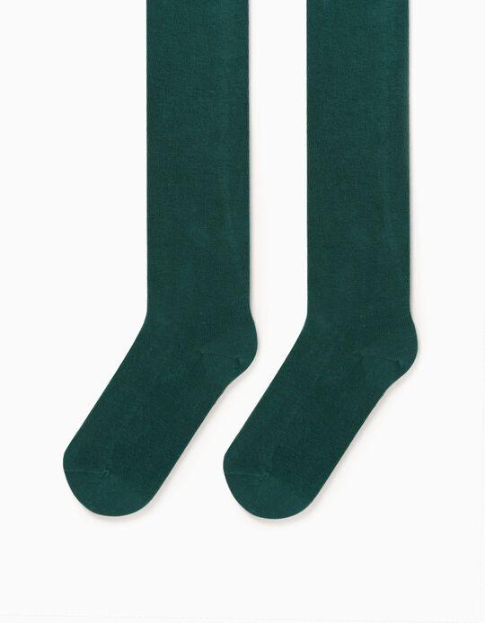 Leotardos para Niña, Verde