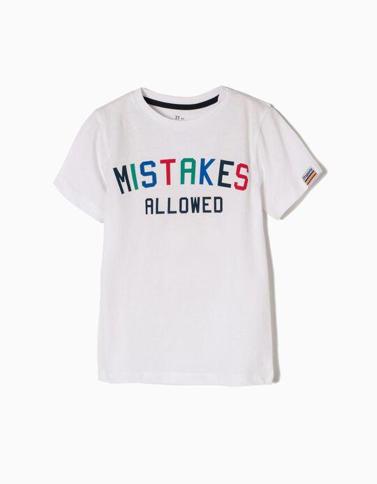 Camiseta Mistakes