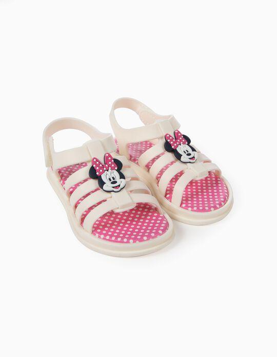 Sandálias para Bebé Menina 'ZY Delicious' Minnie, Branco