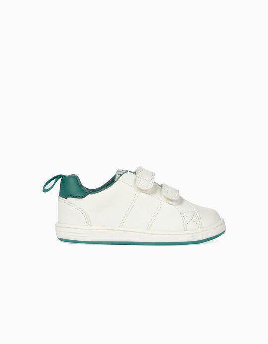 Sapatilhas para Bebé Menino 'ZY 1996', Branco e Verde