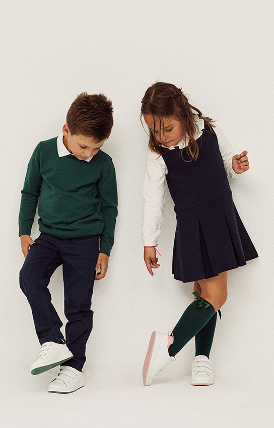 calçado para criança
