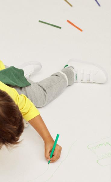 calzado para niño