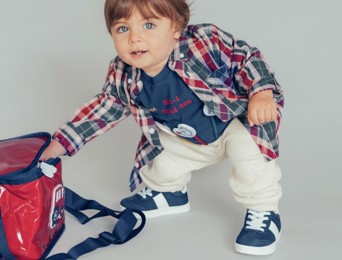 Calzado para bebé niño