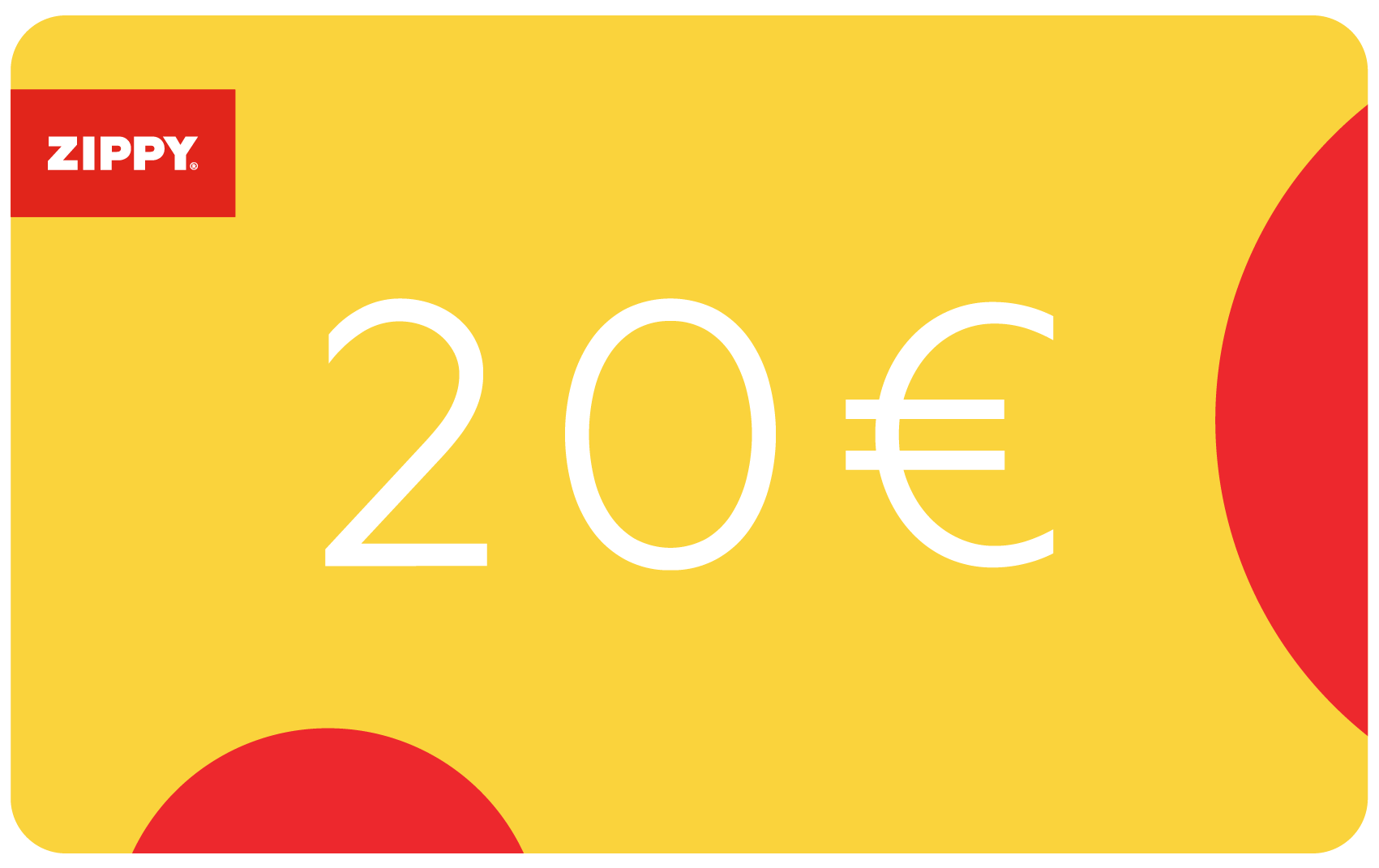 Gift Card 20€ | Zippy Online
