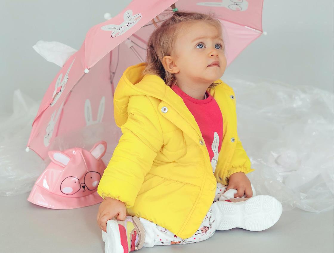 parkas e blusões para bebé menina
