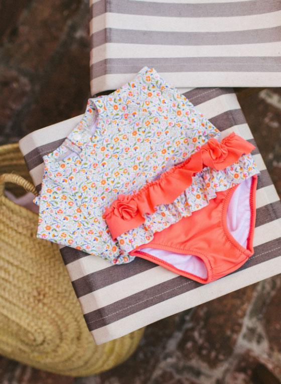 Colección Playa con Protección UV - Bebé Niña