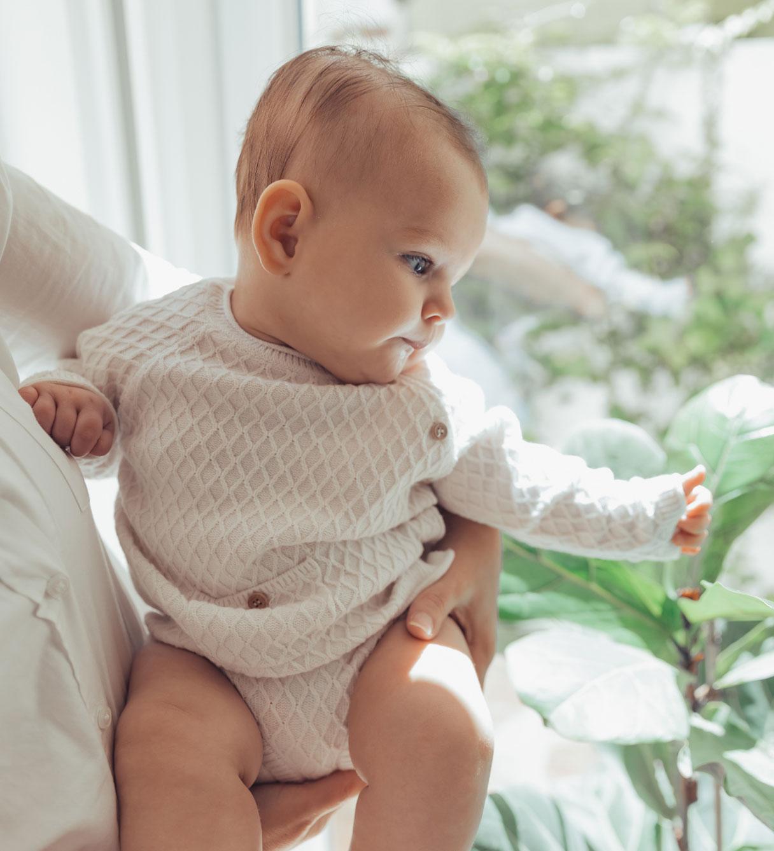 conjunto algodão orgânico para recém-nascido