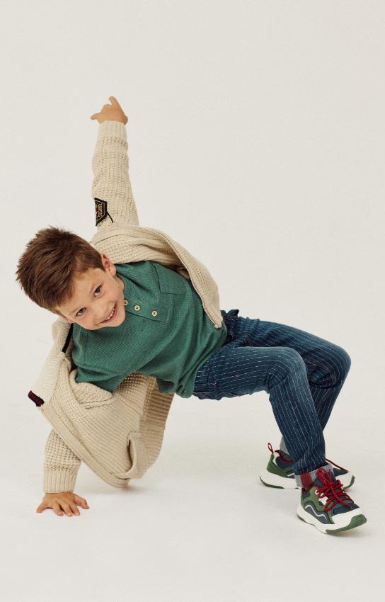 pantalones y bermudas para niño