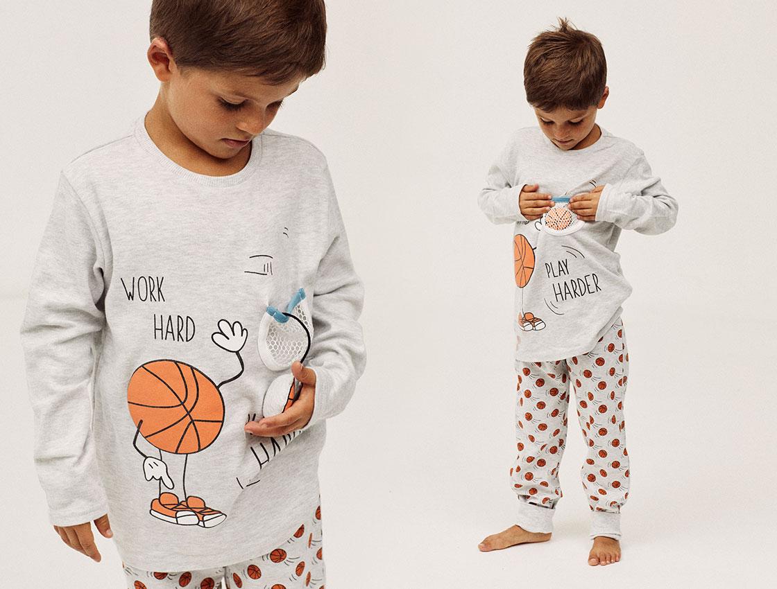 pijamas para niño