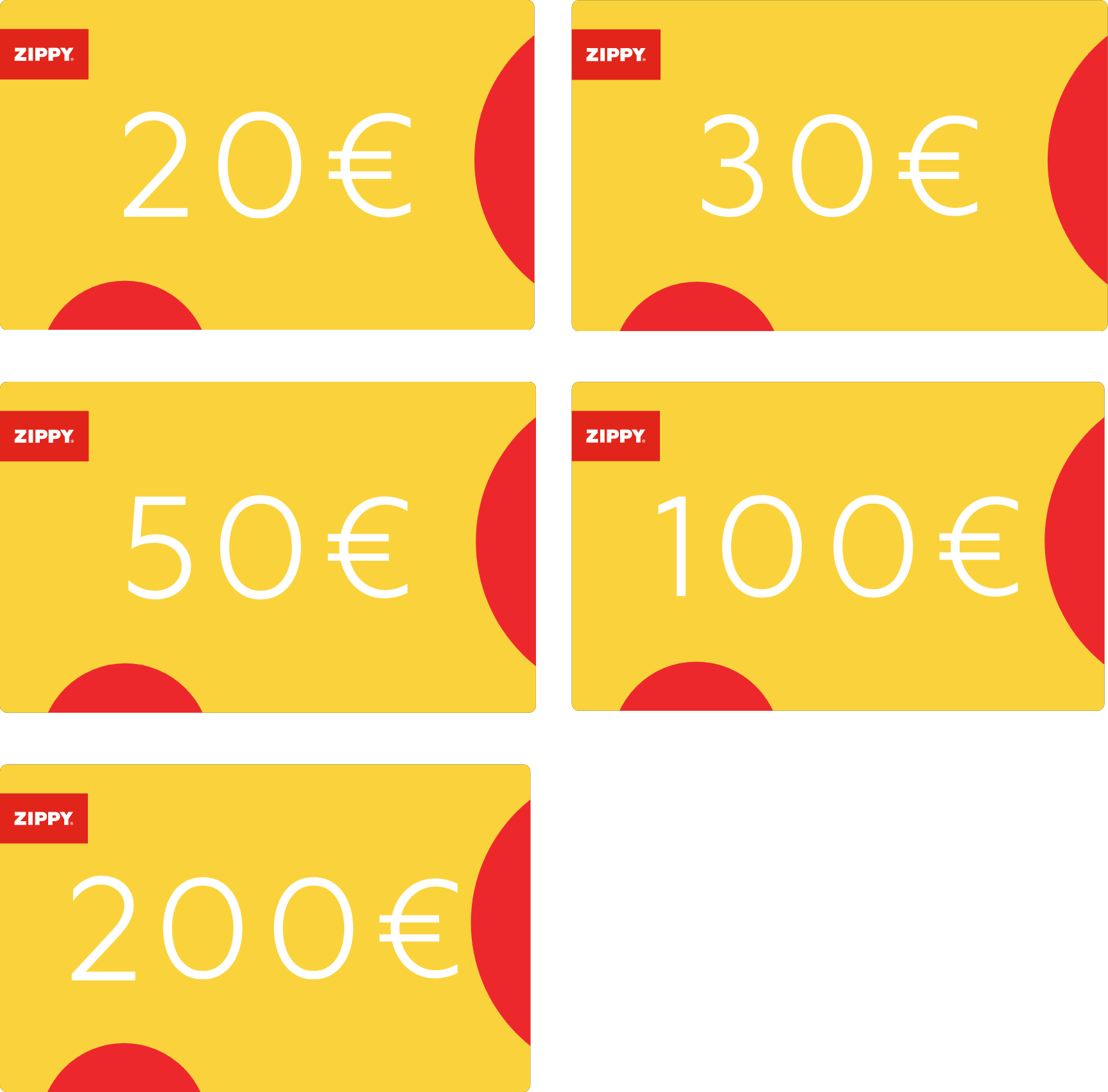 Digital Gift Card   Zippy