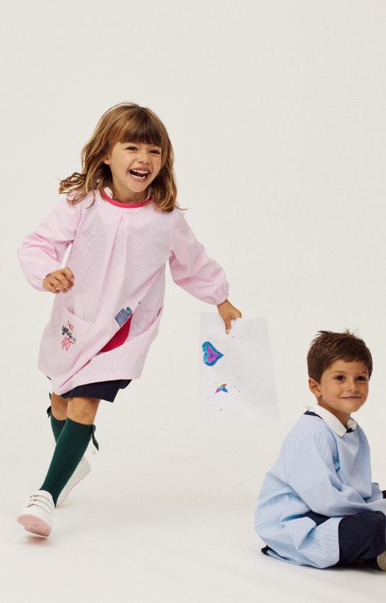batas e uniformes escolares
