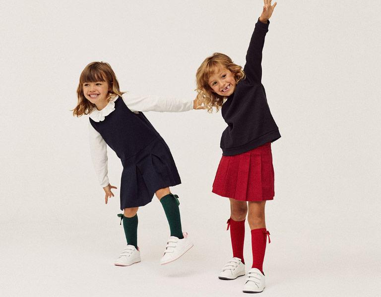 Uniformes Colegio y Batas Escolares para niña