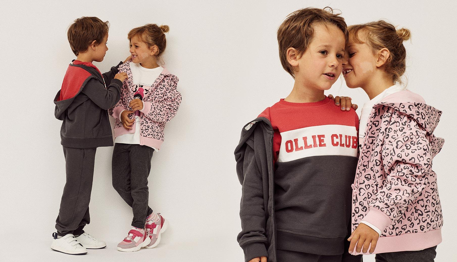 roupa de desporto para criança