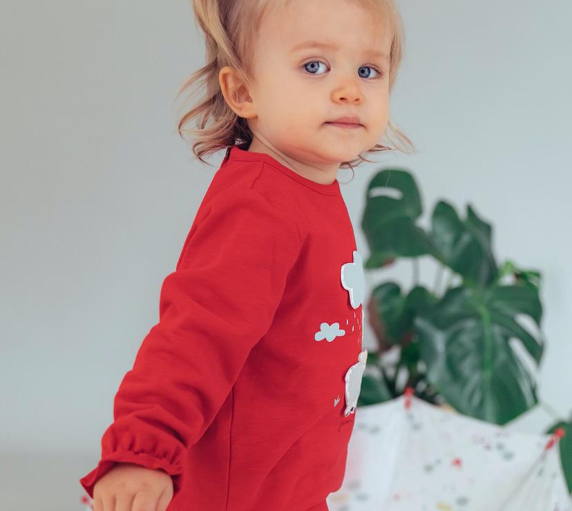 colección Vuelta al Cole para bebé niña