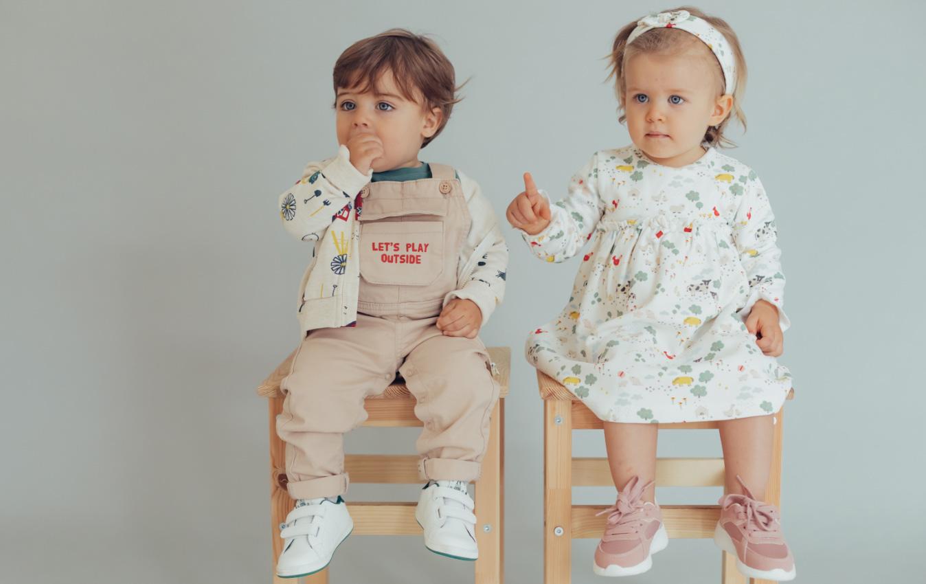 colección mix & match para bebé niña