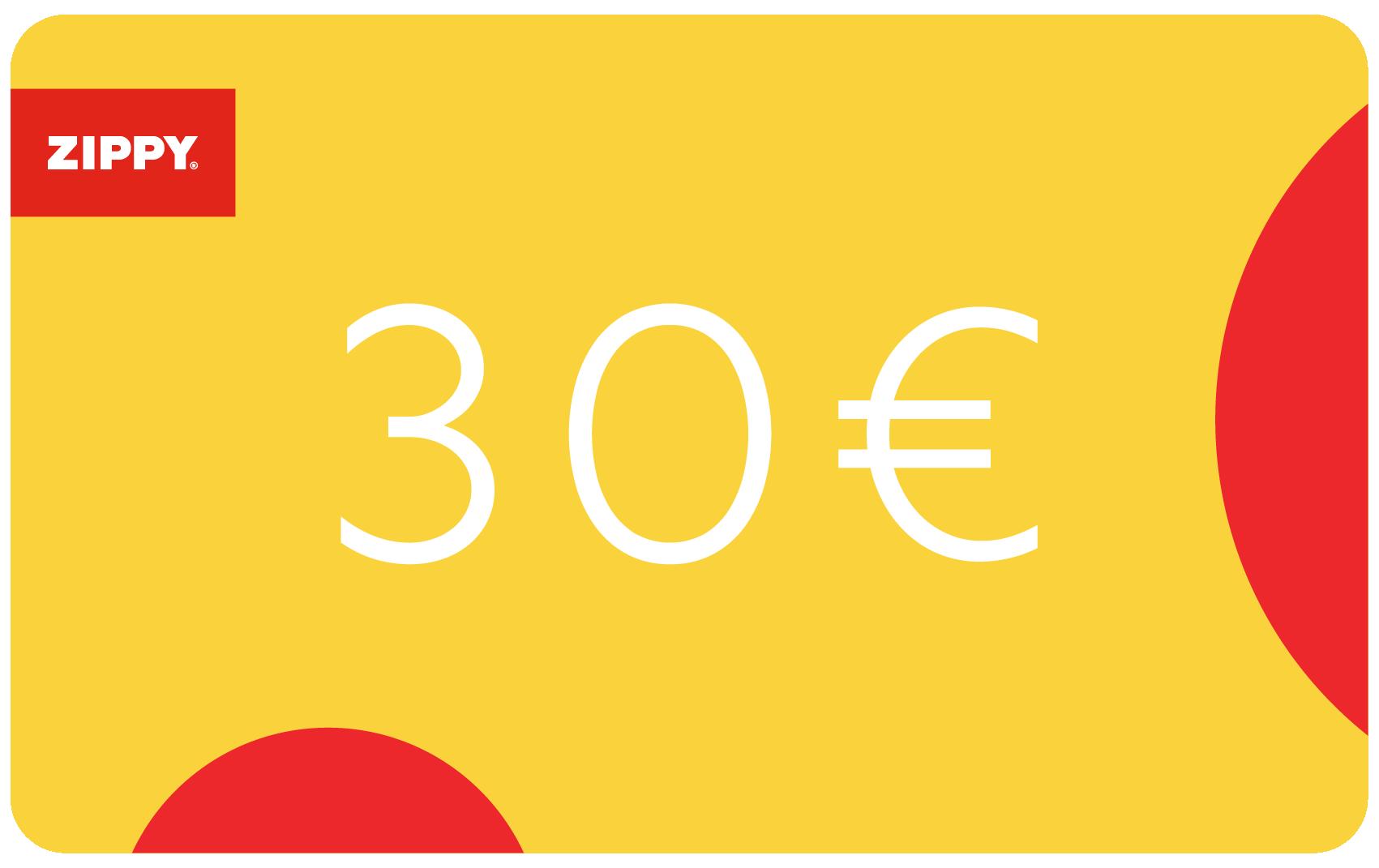 Gift Card 30€ | Zippy Online
