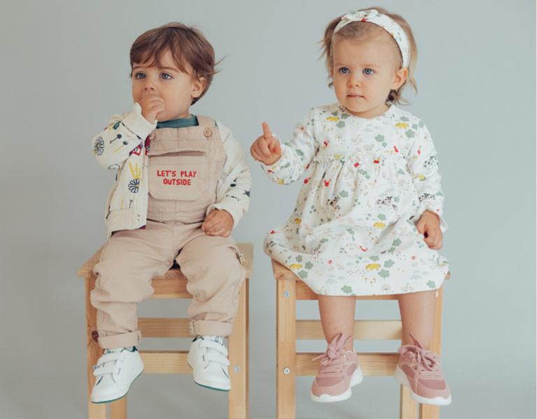 colección mix & match para bebé niño