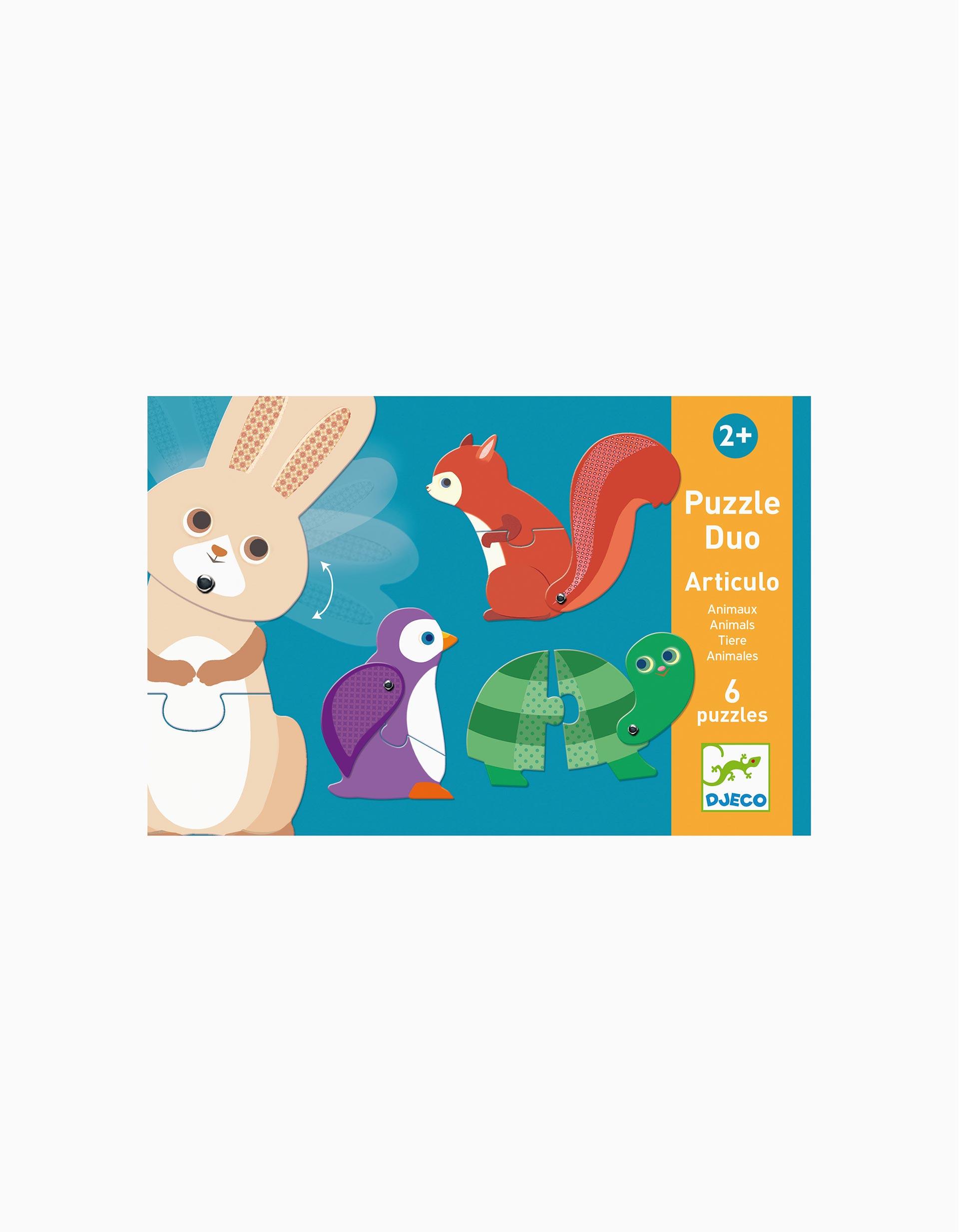 Puzzle Animals Djeco 12 pcs.