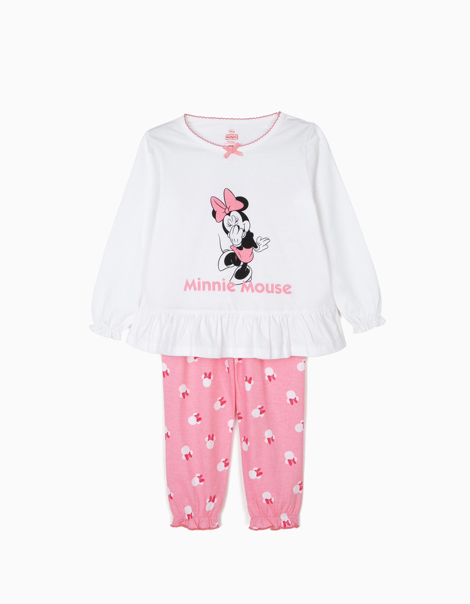 Pantal/ón de Jogging para ni/ña de 3 a 8 a/ños Disney Minnie Mouse