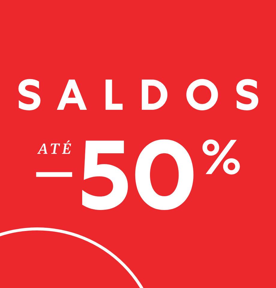 Saldos até -50%