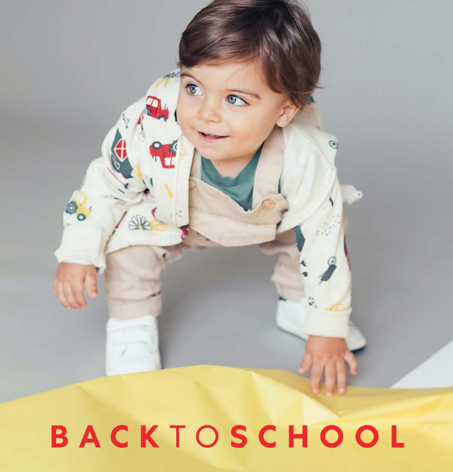 Back to School Collection for baby boys