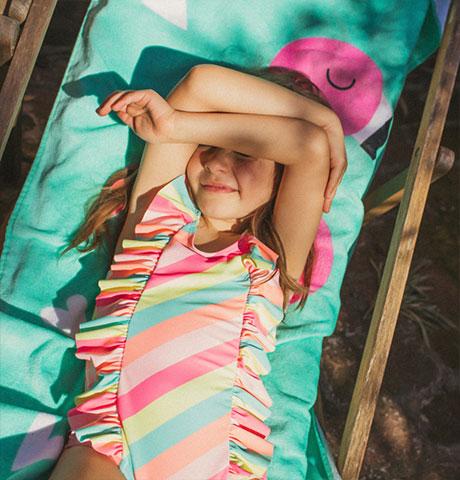 Beachwear Girl - Zippy