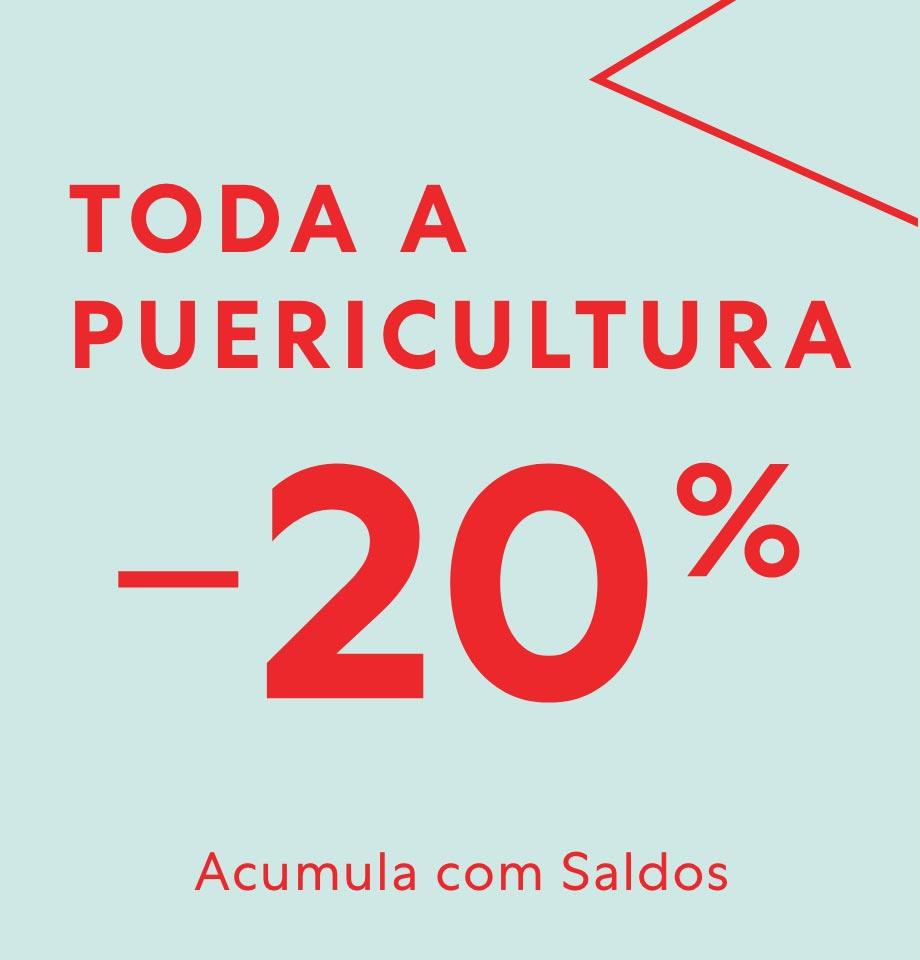 20% desconto direto em Puericultura